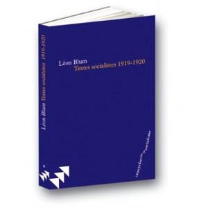 Textes socialistes de Léon Blum (1919-1920