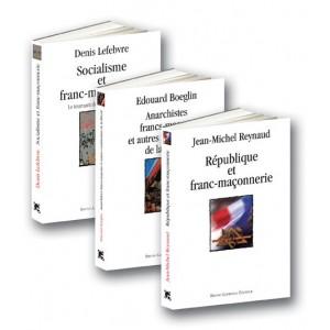 Trois ouvrages sur la franc-maçonnerie