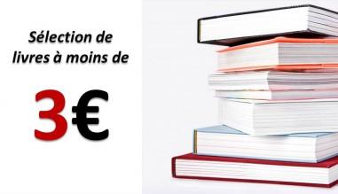 Promotion moins de 3€